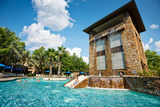 The Woodlands Resort & Conference Center: Double Helix Water Slide
