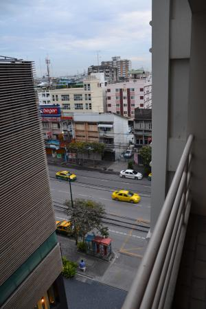 Samran Place Hotel: View from our room