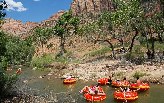 River Tubing with the Zion Adventure Company Picture of