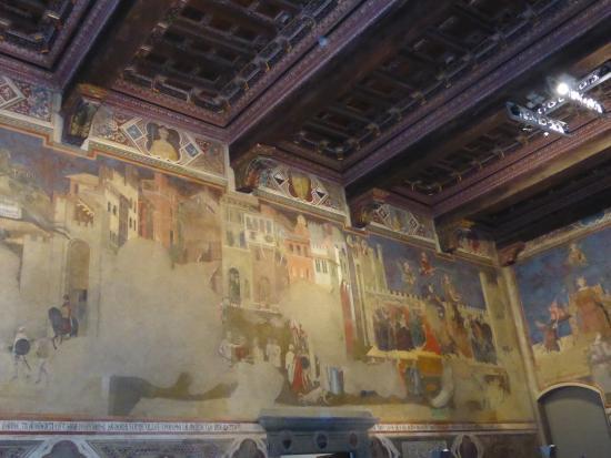 Palazzo Pubblico and Museo Civico: Allegoria del Cattivo Governo