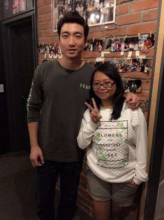 KpopStay : With the owner Mark Oppa *.*