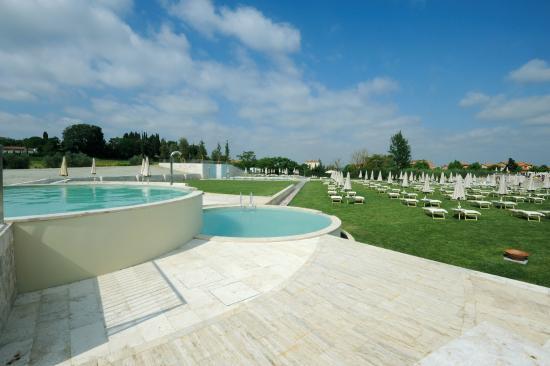 Rapolano Terme, อิตาลี: parco piscine termali