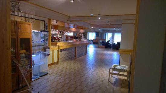 Hotel Jussantupa: Reception