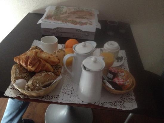 La Residence du Grand Tetras: Petit déjeuné
