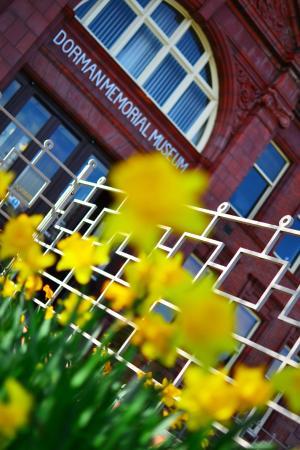 Dorman Museum in the spring
