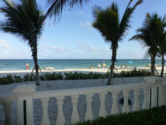 Sea Lord Hotel & Suites: Our Patio View