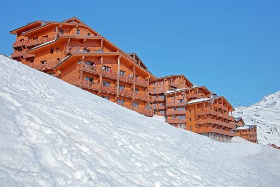 Residence Les Balcons De Val Thorens Exterieur Hiver Picture Of