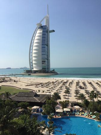 View From Balcony Picture Of Jumeirah Beach Hotel Dubai Tripadvisor