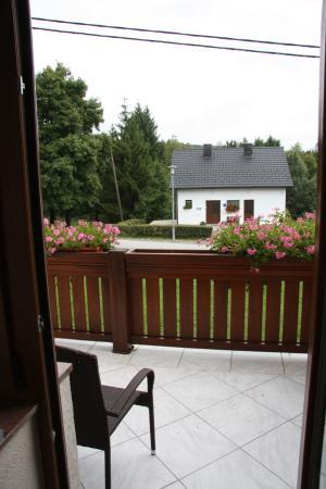 Guest House Plitvicka: Kleiner Balkon