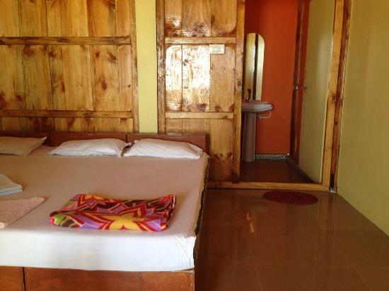 Om Sai Beach Huts: Beach Hut Agonda Bed