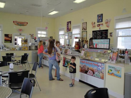 Onancock, VA: Scoops Ice Cream Shop