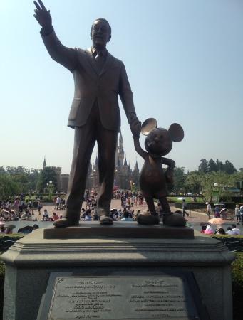 Walt Disney Mickey Mouse Statue Picture Of Tokyo Disneyland