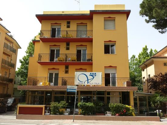 Hotel Villa Itala: fronte hotel