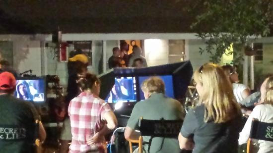 The Inn at River Oaks: Filming of Secrets and Lies at our Inn