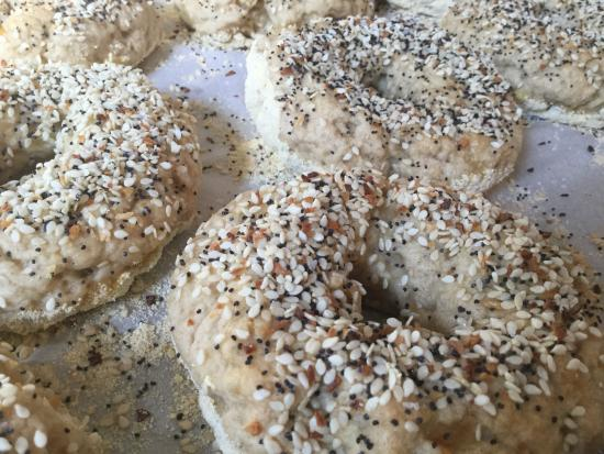 Scottsville, VA: Bagels yummy fresh and delicious
