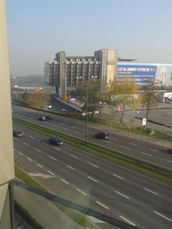 Hilton Garden Inn Hotel Krakow: lasndscape view from a room