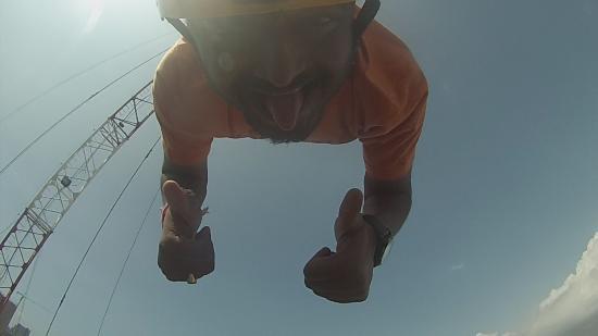 Прыжки с тарзанки в Патайе