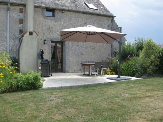 Cussay, Francia: La Colombe garden