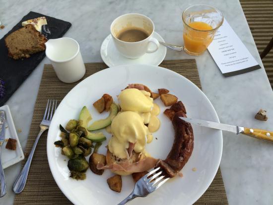 Jamesport, นิวยอร์ก: 3 course of our breakfast!