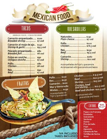 El Coctelito: Mexican food