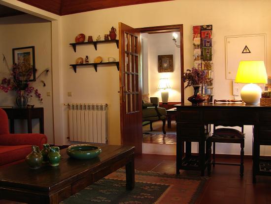 Colares, Πορτογαλία: Reception sitting room