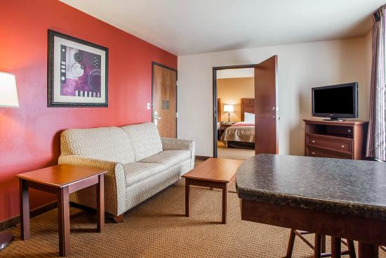 Comfort Inn & Suites Grinnell: Guest Room
