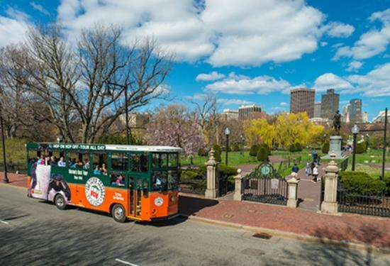 Old Town Trolley Tours: Boston Public Garden