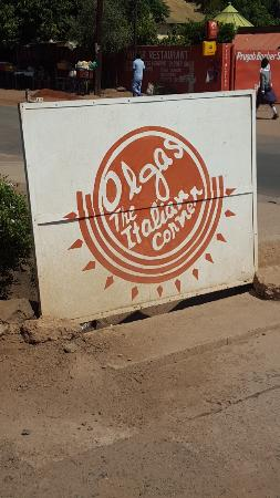Olgau0027s   The Italian Corner: Front Sign