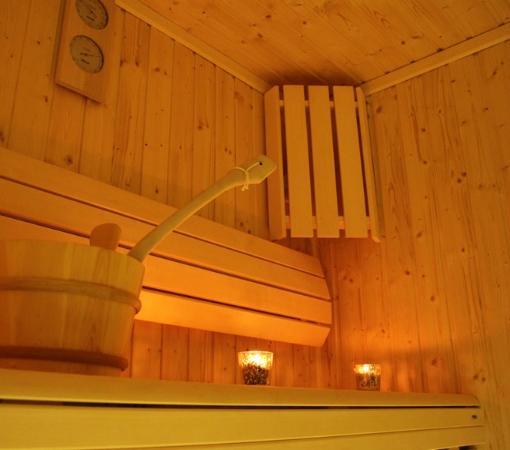 Manoir de La Rogerais & SPA: Espace Bien-être climatisé (Hammam, Sauna, Fitness, lumière pilotée, huiles essentielles, musiqu
