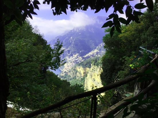Sant'Agnello, อิตาลี: Blick auf Positano