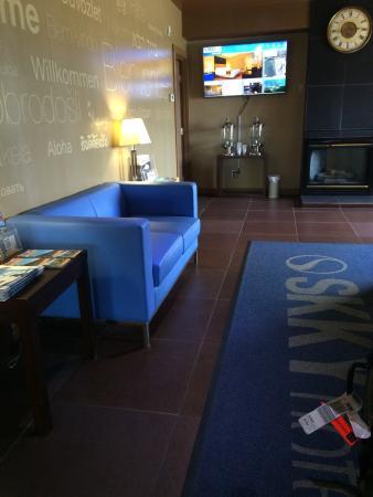 Whitehorse, Yukon Canada - Skky Hotel lobby