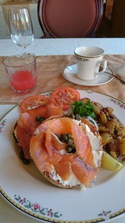 Sainte-Marthe, Καναδάς: Petit déjeuner