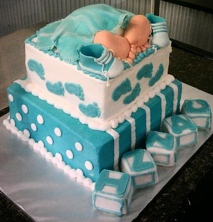 Hiawatha, KS: Baby Shower Cake