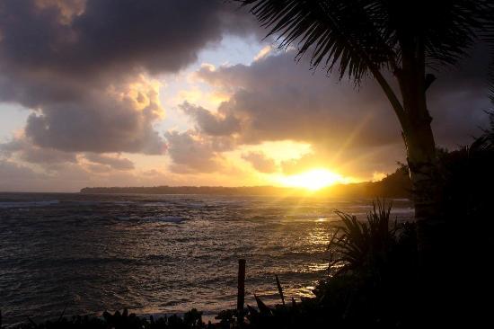 Haena, Havaí: sunrise