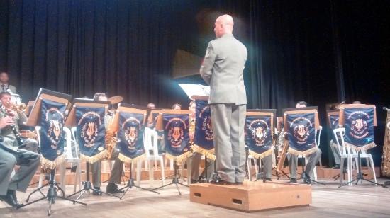 Teatro Municipal Paschoal Carlos Magno : Palco (apresentação da Banda da Brigada)