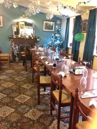 The Hermit Inn: Dining Room Set Up For A Christmas Meal
