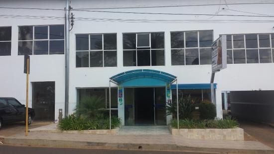 Campos Altos, MG: Frente hotel