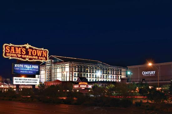 Sam's Town Hotel and Gambling Hall: Sam's Town Vegas Exterior