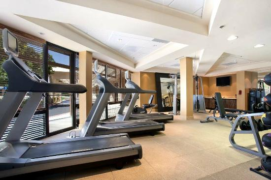 Hilton Stockton: Fitness Room