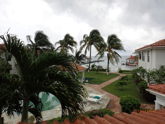 Isla Bonita Yacht Club: View from room over the ocean