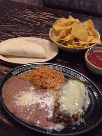 Amigo Mexican Restaurant: Lunch Special $4 Very Good $5.79