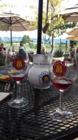 Hood River, Oregón: Tasting at Marchesi Vinyards
