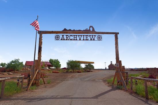 Archview RV Resort & Campground: Sign