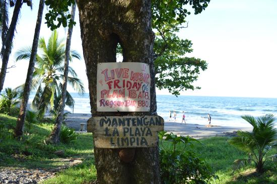 Centro Turistico Brigitte: Playa Negra