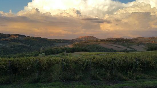 Spectacular views from Terre di Nano