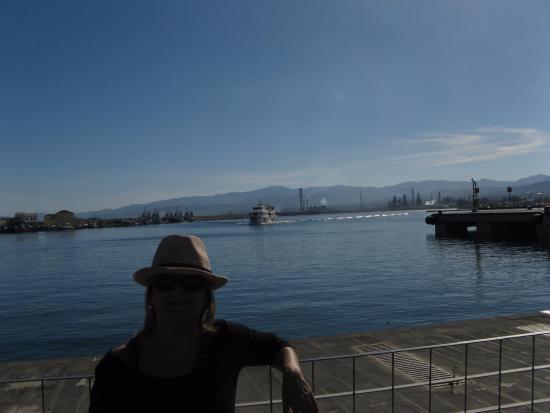 Tarnav Minicrociere Isole Eolie: saliendo del puerto