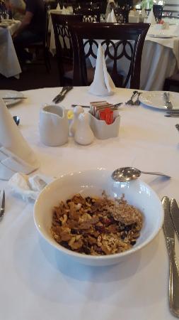 Faircity Quatermain Hotel: I Like their cereals