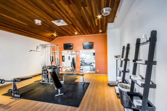 Comfort Inn & Suites : Fitness center