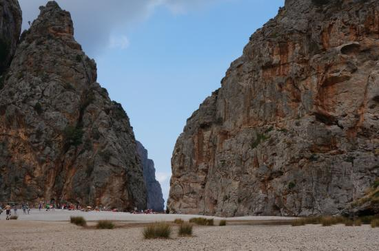 Canyon de la Calobra : Начало ущелья