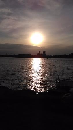 Au retour coucher de soleil la marina de longueuil - Coucher de soleil montreal ...